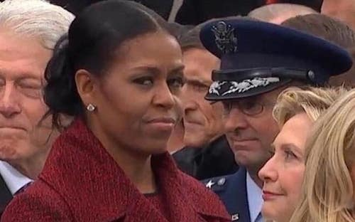 michelle-at-inauguration