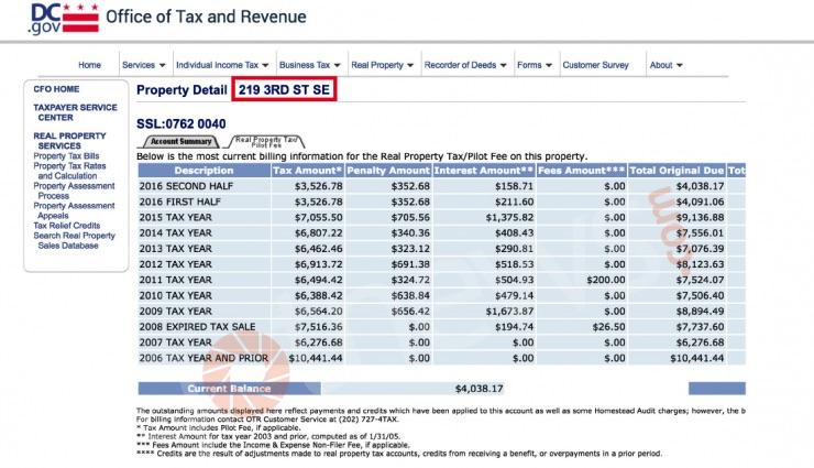 dc-tax-history