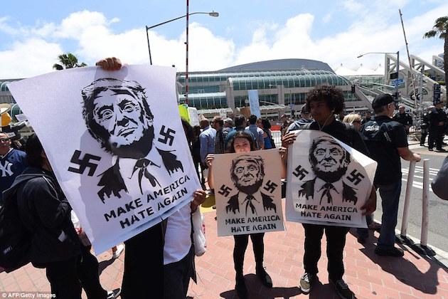 trump-hitler-protest