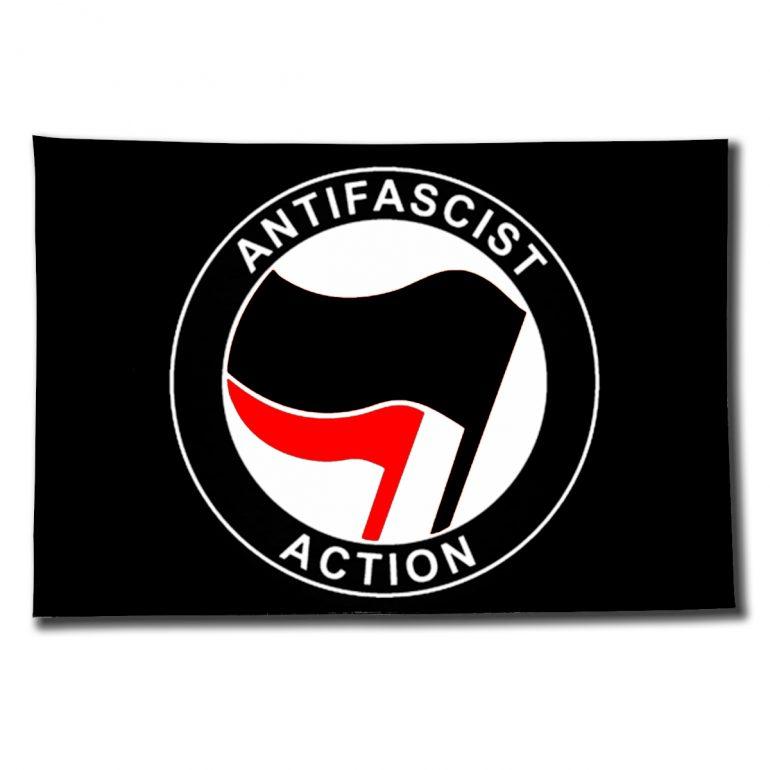 fahne_schwarz_antifascist