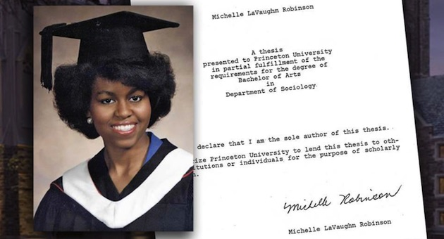 Christopher hitchens and michelle obama thesis