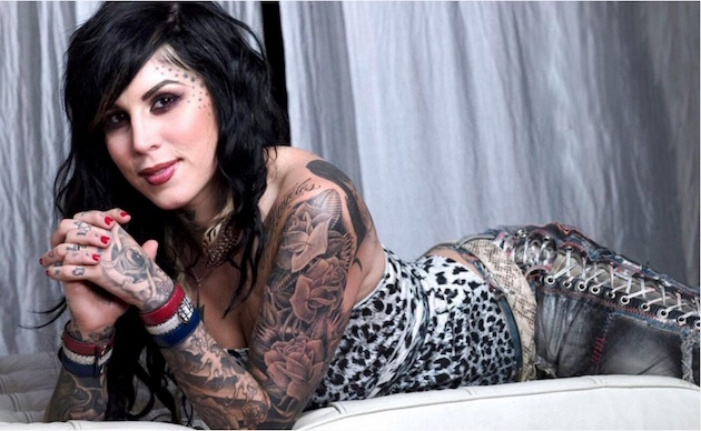 Kat Von D Proves Too Many Tattoos Can Make You Dumb AF With Anti-Trump Rant