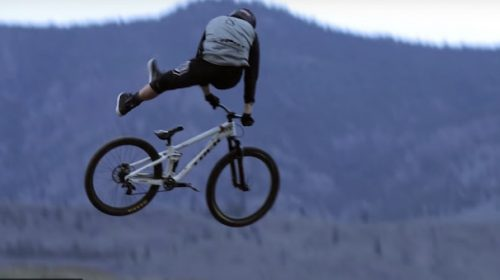 WATCH: '100 Seconds Of Pure Haulin' @ss. No Music. No Effects. Mountain Biking At It's Finest.'