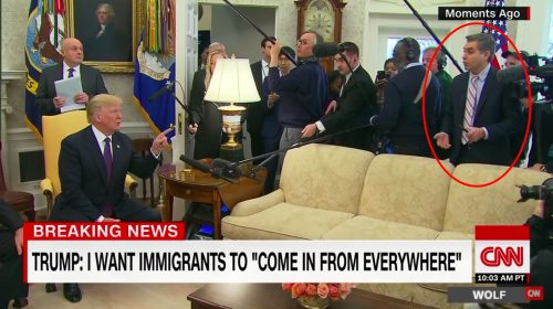 Dear CNN: Your Boy, Jimmy Acosta, Thinks Other Countries Are Sh*tholes – Is That 'News?'