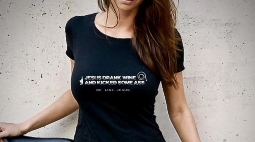 LMAO! This Pretty Girl's 'Christian' T-Shirt Is Hilarious & True – Would You Wear It?
