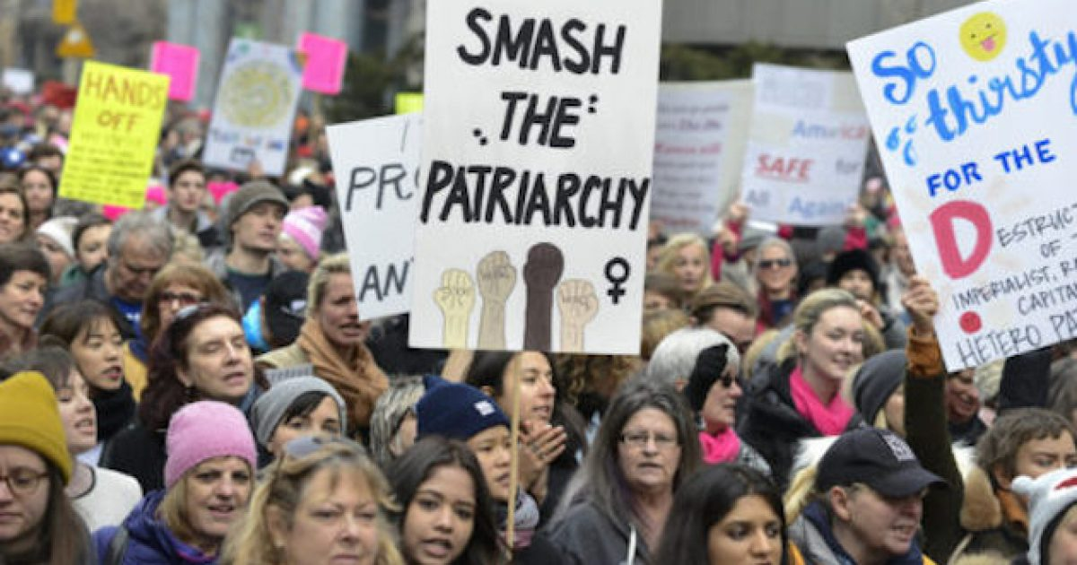 Dear Men: The 'Anti-Men' Movement Is Exploding - Could Morph Into Something 'Bigger Than The Tea Party'