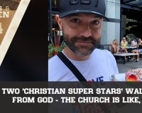 Two 'Christian Super Stars' Walk Away From God, The Church Is Like, 'OMG!