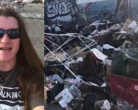 BOOM! MAGA Bro Promised To Go To L.A. To Clean Up A Filthy Homeless Camp — PROMISE KEPT! (VIDEO)
