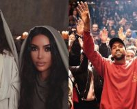 YE MUST BE BORN AGAIN: Kim And Kids Get Baptized, Kanye Confirms That He 'Got Saved' This Year