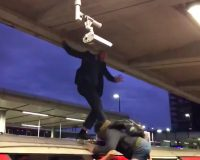 WATCH: Climate Protesters Get YANKED Off The Top Of The Tube By Frustrated Commuter