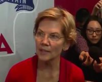 WATCH: Liz Warren Plays To Leftist Anti-Semites By Toying With Cutting AID To Israel