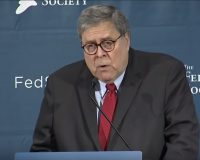 Bill Barr: Speech To Federalist Roasts Libs, Makes Powerful Case For Strong Executive Branch
