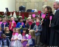 ADORABLE: Little Boy Brings His Entire Kindergarten Class To Watch Him Get Adopted (VIDEO)