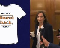 LMAO: Sen. Martha McSally Campaign Launches 'You're A Liberal Hack, Buddy' T-Shirts