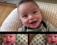 EPIC: Baby Ryan 'Sings' Thunderstruck And It's AWESOME! (Video)