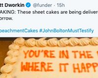 Democrats Are Pressuring GOP Senators To Call Witnesses Using… Cakes?!