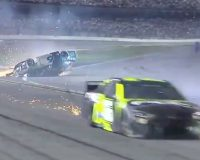 Left And Right Had VERY Different Reactions To Newman's Fiery Daytona 500 Crash