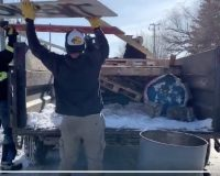 Bros With A Truck Step Up To Clear Illegal Rail Blockade That Had Government Officials Paralyzed (Video)