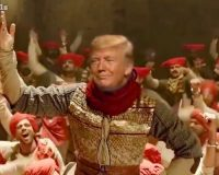 MEME OF THE DAY: In Honor Of President Trump's Successful India Trip, Here's 'Peshwa Warrior Trump' (VIDEO)