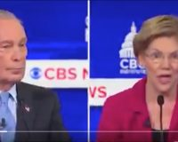 WATCH: It Didn't Take Long For Liz Warren's 'Kill It' Attack On Bloomberg To Boomerang