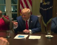 LMAO: President Trump Was Just Called The 'First Black President' At Black History Month WH Roundtable