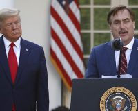MyPillow Owner, Mike Lindell, Speaks In The Rose Garden–Leftists Lose Their Minds!