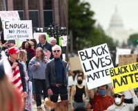 PROTESTER PRIVILEGE: Peaceful Lockdown Protests Are 'Killing Grandma' But BLM Protests Turning Into Riots Are A-Okay