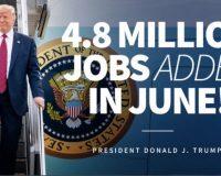 Despite Democrat Hopes For Bad News, Job Numbers In June Broke Records!