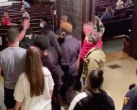 WATCH: Angry Leftist Mob Targets NY Church–Harassing Worshippers And Shouting 'Black Lives Matter' During The Sermon