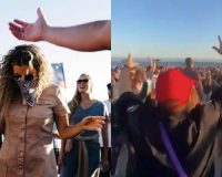 California Beaches Are The New Sites For Worship Services Since Churches Aren't Allowed To Re-Open (VIDEO)