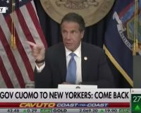 PATHETIC: Cuomo Pleads For Wealthiest New Yorkers To Come Back (Video)