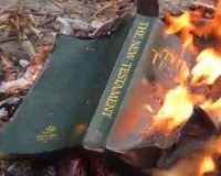 Pastor Calls Out BLM 'Protests' Over Burning Bibles In Portland