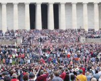 Christians Show Up In Force To March And Pray For The Nation In National Mall