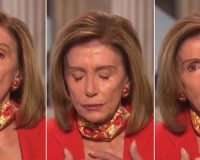 WATCH: Nancy Pelosi Didn't Practice Her Emotional Pivot Enough