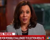 WATCH: Kamala Harris Refuses To Answer A Direct Question About Packing The Supreme Court
