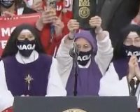 Three MAGA Nuns Steal The Show At Ohio Trump Rally