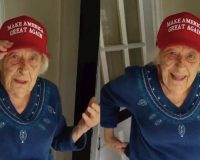 WATCH: 101 Yr Old Says She's Heading To The Polls On A Motorcycle To Vote For Trump On Nov 3!