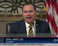 Mike Lee Puts Democrat's Ongoing War Against The Judiciary On BLAST (VIDEO)