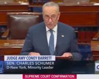 WATCH: Sen. Chuck Schumer Says That 'Generations Yet Unborn Will Suffer' Because Of ACB's Confirmation