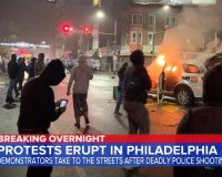 Philly Erupts Into Violence Hours After Police Shoot Armed Man Dead … Truck Runs Over Cop