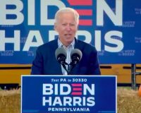 WATCH: Joe Biden Yells Gibberish At Rally And Nobody Has A Sweet Clue What He's Talking About