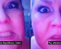 WATCH: Unhinged Leftist Has A Message For Republicans — Try Not To Laugh Your @$$ Off!