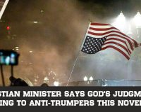 Christian Minister Says God's Judgment Is Coming To Anti-Trumpers This November