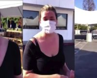 WATCH: Cali Restaurant Owner Tearfully Shows Movie Production Dining Area Next To Her Shut Down Business