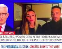 CNN-NPR Photo Journalist Cheers 'We Did It!' Inside Capitol Building With BLM Agitator (VIDEO)