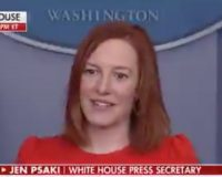 BIDEN PRESS SEC: Shamelessly Spins Biden's Mask Hypocrisy… Will She Get The 'Spicer' Treatment?