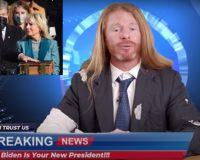 LMAO: Satirist ROASTS Media Mendacity During Biden's First Week In Office (VIDEO)