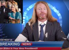 LMAO: Satirist ROASTS Media Mendacity During Biden's First Week In Office (VIDEO)
