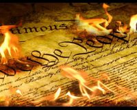 CONSTITUTION BURNING: Rabbis Blast 'Equality Act' For Attacking Religious Values, Bible