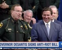 WATCH: Gov. Ron DeSantis Signs Anti-Riot Bill To Stop Violent Protests And Statue-Toppling